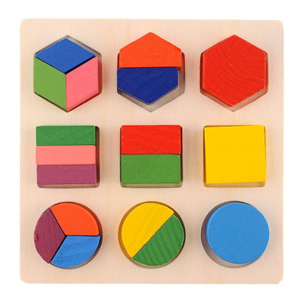 YBC Kids Wooden Learning Geometry Educational Toys Early Learning -intl Price Philippines