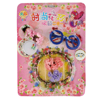 Yi Cai children's model wreath with diamond Frame