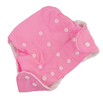 Yingwei New Reusable Nappies for Baby Babies Newborn Cloth NappyDiapers Adjustable Newborn to Toddler Pink