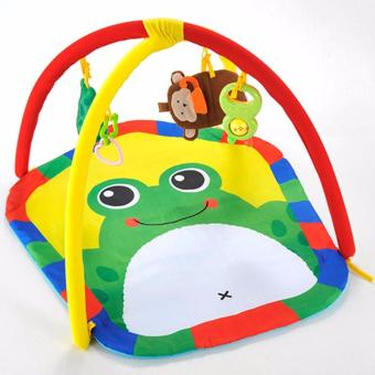 Yiqu Multifunctional Baby Gym Mat with Cute FROG Design