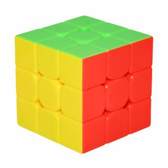 YJ Yulong Stickerless Magic Rubik's Speed Cube 3x3x3