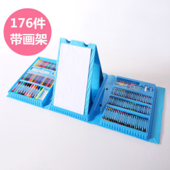 Young student's painted children brush painting set