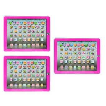 Ypad Multimedia Learning Computer Toy Set of 3 (Pink) Price Philippines