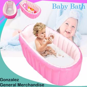 YT-226A Inflatable Baby Bath Tub (Pink) | Lazada PH