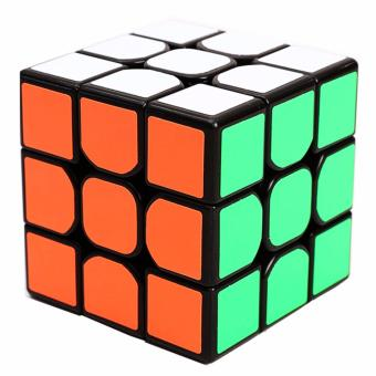 Z-Cube 3x3 Magnetic Speed Magic Rubik's Cube Black - 3