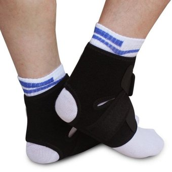 1 Pair Ankle Brace Pain Relief Ankle Support Protection Strap -intl