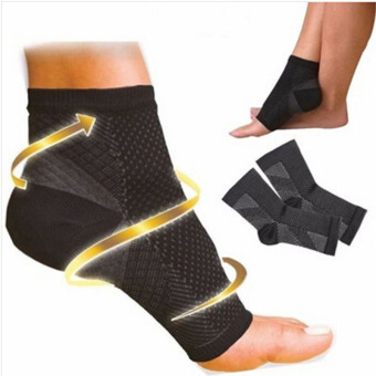 1 pair Foot Sleeve Plantar Fasciitis Compression Socks Black SoreAchy Swelling Heel Ankle Relief from foot pain