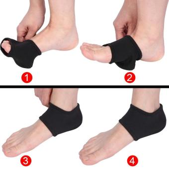 1 Pair Plantar Fasciitis Ankle Care Support Heel Protective Wrap -intl - 3