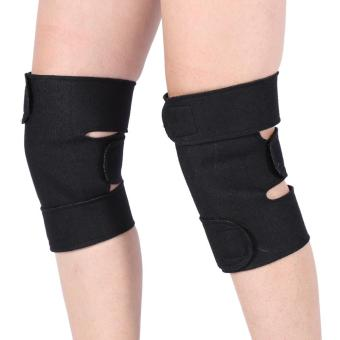 1 Pair Tourmaline Self-heating kneepad Magnetic Therapy KneeArthritis Brace Support - intl - 2