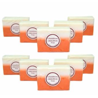 10 Pcs. Glutathione Whitening Beauty Soap 1134g