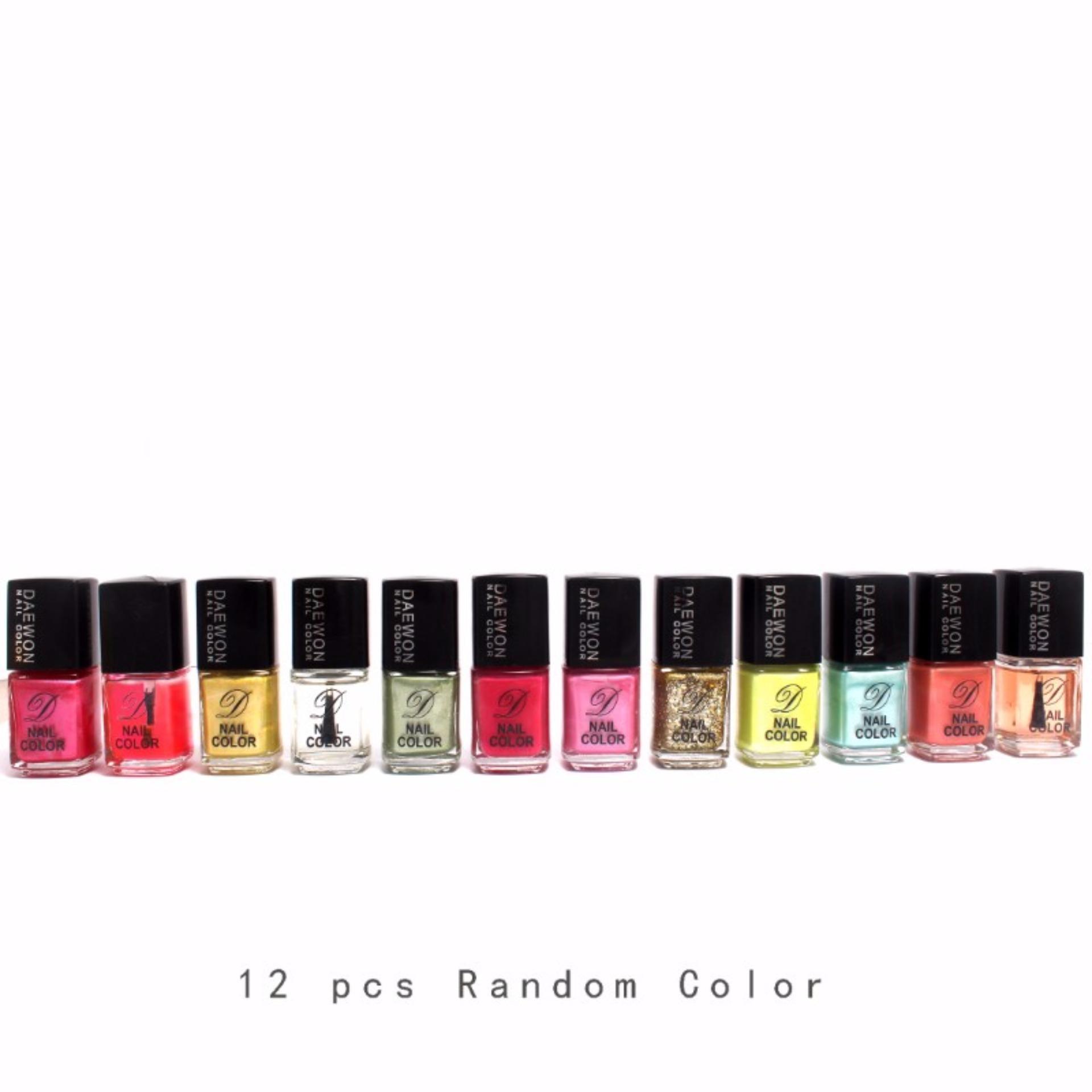 12pcs. Set Random Color Nail Polish Nail Lacquer Nail Art Pastel ...