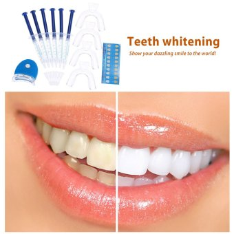 12pcs Tooth Whitener Dental Bleaching Dental Teeth Whitening Trays Care Whitening Gel 44% Peroxide Dental Equipment Home Kit Teeth Tools - 4