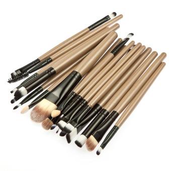 15 Colors Contour Face Cream Makeup Concealer Palette+20Pcs Brushes brown - 5
