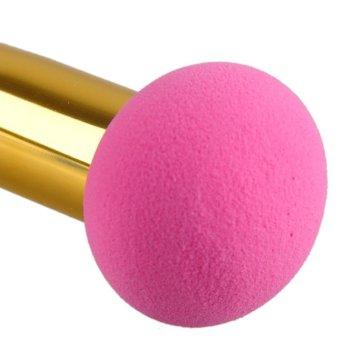 1pc Flat Head Makeup Sponge Blender Blending Cotton Powder Puff Dry and Wet Brush Puff NON LATEX COTTON - 2