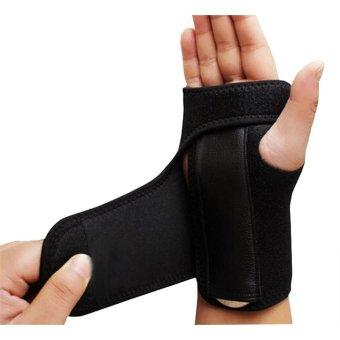 1pc Sports Goods Wrist Support Carpal Tunnel Splint Arthritis Sprains Strain Hand Brace Band (Right Hand) - 2
