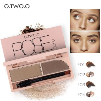 1PC Waterproof Eyebrow Powder Gel Makeup Brow Cream Cosmetic Kit With Brush (#3) - intl - 5