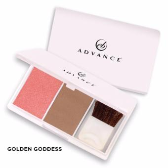 2 PCS Ever Bilena Advance Blush On Duo (Golden Goddess)