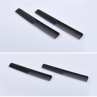 2 PCS Plastic Cutting Hair Comb Hairdressing Hair Brush Barber Tool - intl