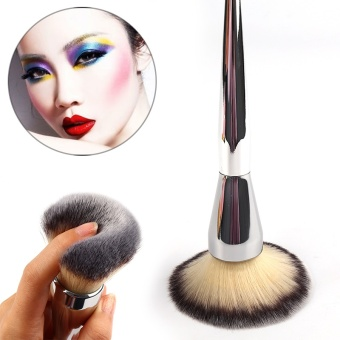 2017 New Big Size Face Flat Foundation Brush High Quality Powder Cosmetic Makeup Brush Dome Blush Women Beauty Makeup Tool - intl - 5