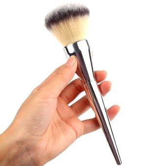 2017 New Big Size Face Flat Foundation Brush High Quality Powder Cosmetic Makeup Brush Dome Blush Women Beauty Makeup Tool - intl - 4