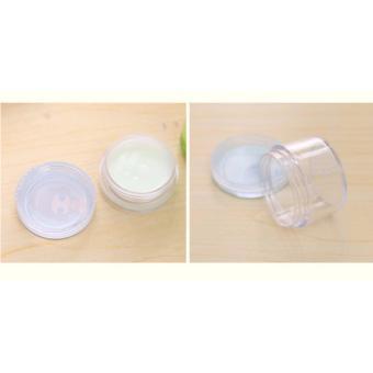2pcs Random Design Set Empty Cosmetic Mini Bottle Jar Container - 4