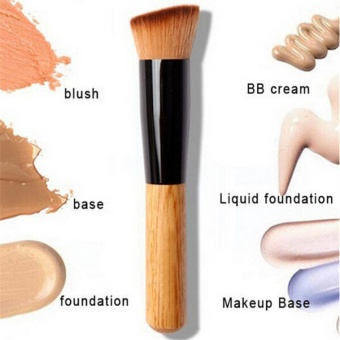 2PCS/SET 2017 Makeup brushes Powder Concealer Blush Liquid Foundation Face Make up Brush Tools Professional Beauty Cosmetics - intl