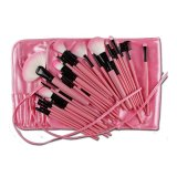 32-Piece Make-up Brush Set (Pink) - thumbnail 2