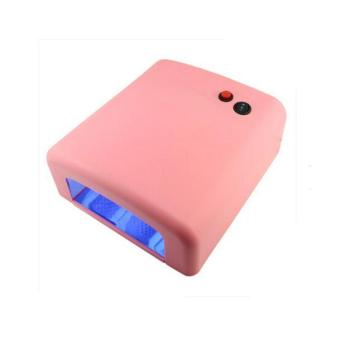 36W Nail Art LED UV Gel Curing Lamp Dryer Timer Polish Kit Tool PK- intl