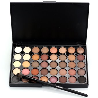 40 Colors Matte Luminous Eyeshadow Palette Cosmetic Eye Shadow Colorful - intl