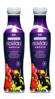 4Life Transfer Factor RioVida Juice Tri-Factor Formula Acai,Pomegranate, Blueberry, and Elderberry 500ml Set of 2 Price Philippines