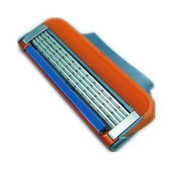 4pcs/lot 5 Layer Blades Shaving Razor Blades for Men Gilett Fusion Power Shaver Blades gilletts Proglide Shaving Blades - intl - 4