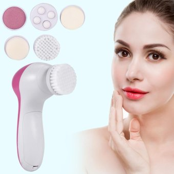 5 In 1 Beauty Face Care Massager Electric Facial Cleanser Brush Massaging Tool - intl