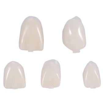 50Pcs/Box Dental Front Teeth Temporary Realistic Oral Care ResinCrown Anterior Teeth - intl