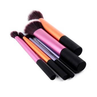 6 pcs Set Pro Techniques Powder Cosmetic Make up Makeup Blush berusBrushes Foundation