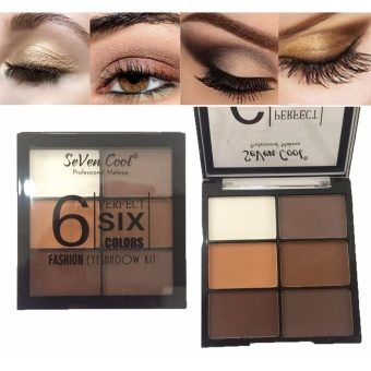 6 Perfect Colors Fashion Eyeshadow Eye Shadow Makeup Palette #03 8g