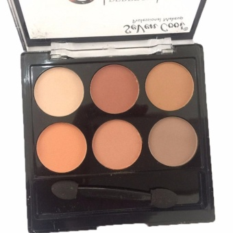 6 Perfect Colors Matte Theory Eyeshadow Eye Shadow Makeup Palette#03 12g - 5