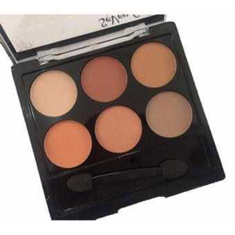 6 Perfect Colors Matte Theory Eyeshadow Eye Shadow Makeup Palette#03 12g - 4