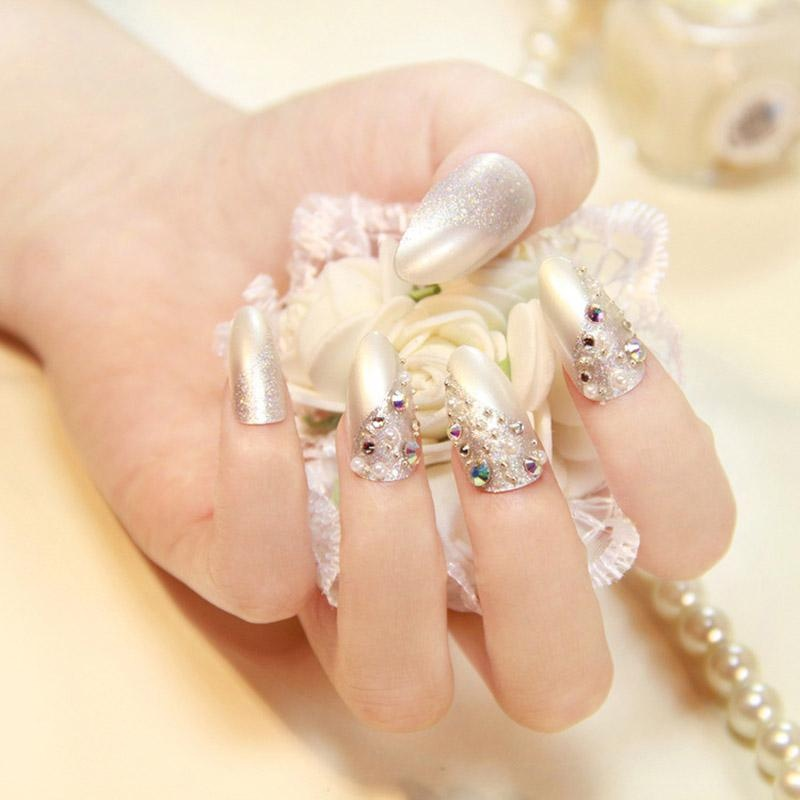Philippines | 600 Pcs Long Oval Shape False Finger Nail Tips Acrylic ...