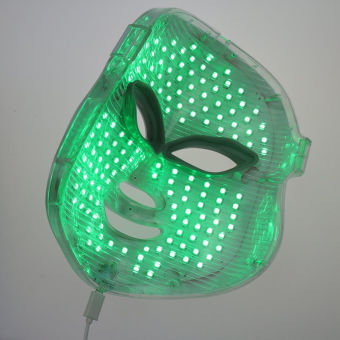 7 Colors LED Photon Facial Mask Skin Care Anti-Aging Therapy Photodynamics PDT - Intl - 3