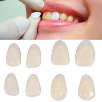 70PCS/Bag Teeth Veneers Resin Anterior Upper Temporary Crown For Dental Oral Care - intl