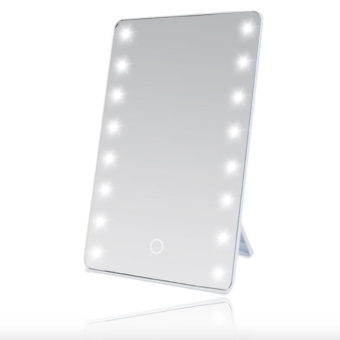 8 LED Vanity Mirror Compact Portable Cosmetic Mini Makeup Mirror xwith FREE Hair Fairy Dry Shampoo