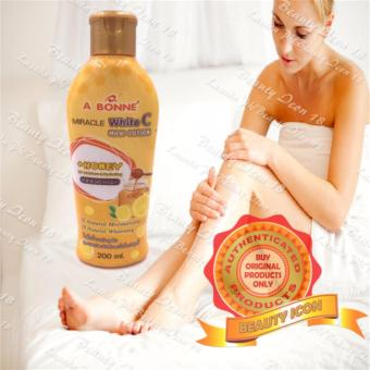 A Bonne Miracle White C Milk Lotion with Honey 200ml