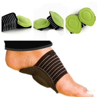 Absorb Shocking Foot Arch Support Plantar Fasciitis Heel Pain AidFeet Cushioned Useful - intl