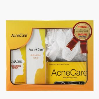 Acne Care Anti-Acne Soap, Toner and Lotion Set