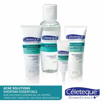 Acne Solutions Everyday Essentials by Celeteque