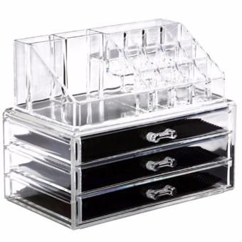 Acrylic Cosmetic Organizer Makeup and Jewelry Storage Case Display Price Philippines