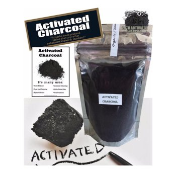 Activated Charcoal Virgin Carbon Powder 100g