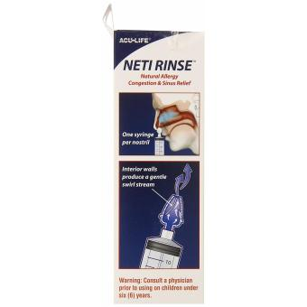 Acu-Life Neti Rinse Sinus and Nasal Relief Wash / Irrigator Pot - 4