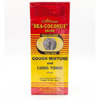 African sea-coconut brand cough mixture and lung tonic 177ml