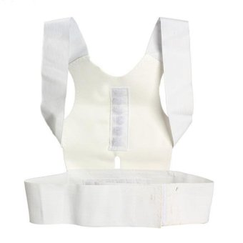agnetic Therapy Posture Back Shoulder Corrector Support Brace Belt - intl - 2
